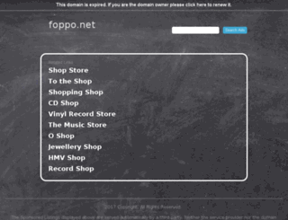 foppo.net screenshot