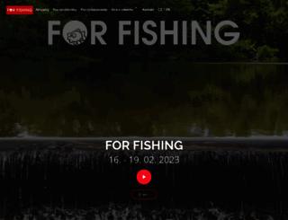 for-fishing.cz screenshot