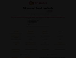 for-sale.ie screenshot