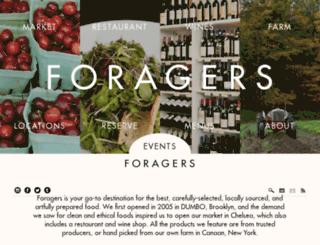 foragerscitygrocer.com screenshot