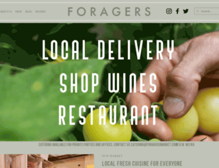 foragersmarket.com screenshot