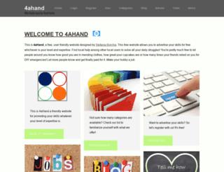 forahand.com screenshot