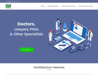 foralldoctors.com screenshot