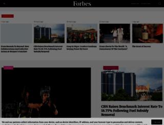 forbesafrica.com screenshot