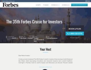 forbescruise.com screenshot