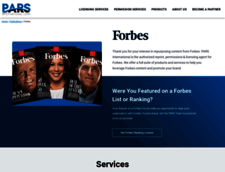 forbesreprints.magreprints.com screenshot