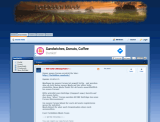forbidden-mods.phpbb8.de screenshot