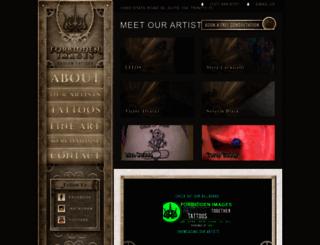 forbiddenimages.com screenshot