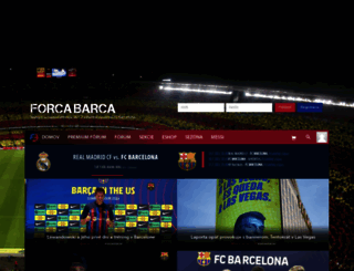 forcabarca.sk screenshot