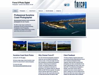 force8photodigital.com.au screenshot