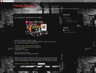 forcedfitness.blogspot.ca screenshot