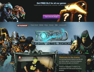 forcedthegame.com screenshot