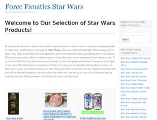 forcefanatics.com screenshot