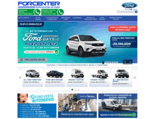 forcenter.cl screenshot