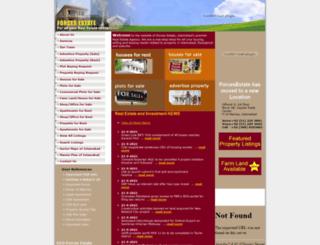 forcesestate.com screenshot