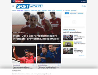 forchetteacentrocampo.sportmediaset.it screenshot