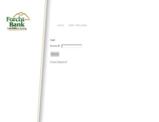 forchtbankonline.com screenshot