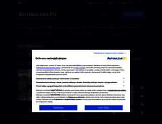 ford-mondeo.autobazar.eu screenshot