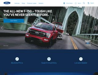 ford.ca screenshot