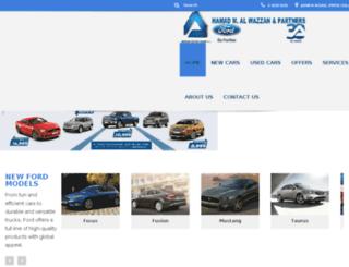 ford.com.kw screenshot