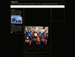 ford2011.blogspot.com screenshot