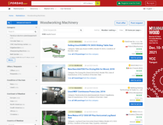 fordaqmachinery.com screenshot