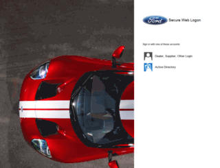 fordecat.dealerconnection.com screenshot