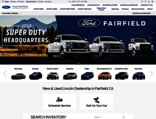 fordfairfield.com screenshot