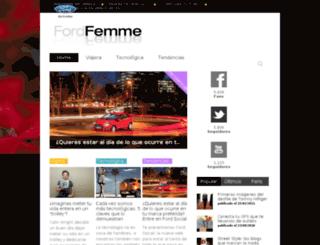 fordfemme.com screenshot