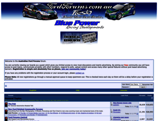 fordforums.com.au screenshot