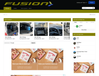 fordfusionhybridforum.com screenshot