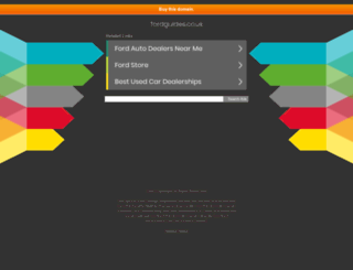 fordguides.co.uk screenshot