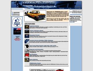 fordification.com screenshot