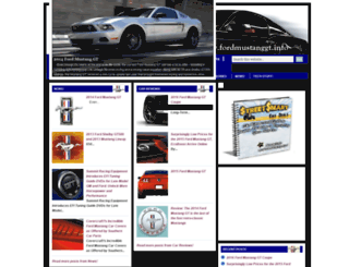 fordmustanggt.info screenshot