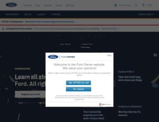 fordowner.com screenshot