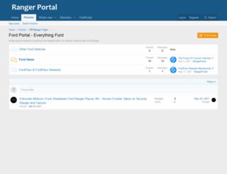 fordportal.com screenshot