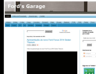 fordsgarage.blogspot.com screenshot