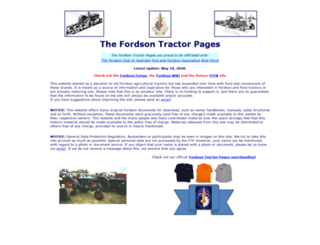 fordsontractorpages.nl screenshot