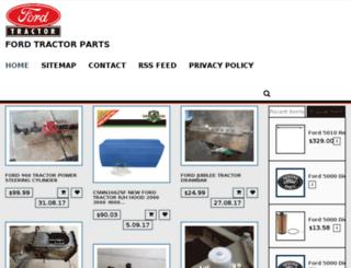 fordtractorsparts.tech screenshot