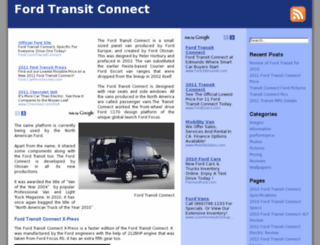 fordtransitconnect.org screenshot