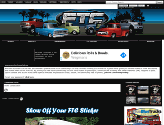 fordtruckclub.net screenshot