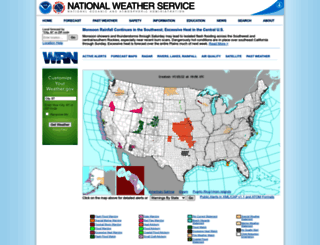 forecast.weather.gov screenshot