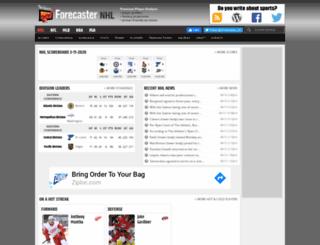 forecaster.faceoff.com screenshot