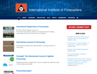 forecasters.org screenshot