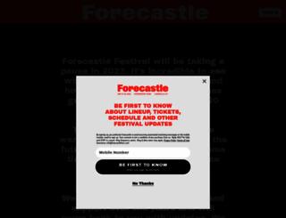 forecastlefest.com screenshot