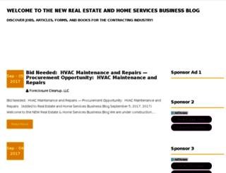 foreclosure-cleanup-blog.com screenshot