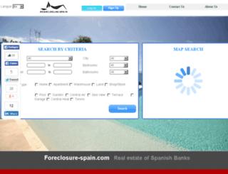 foreclosure-spain.com screenshot