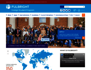 foreign.fulbrightonline.org screenshot