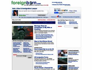 foreignborn.com screenshot