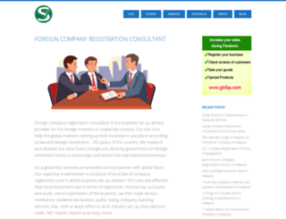 foreigncompanyregistration.com screenshot